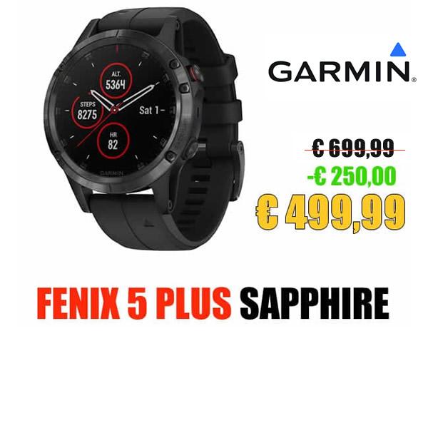 fenix 5 PLUS SAPPHIRE PUNTO IT