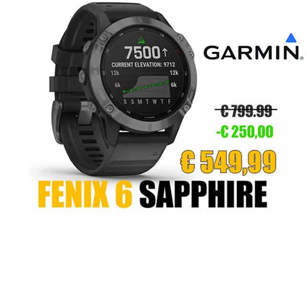 fenix 6 sapphire per punto it